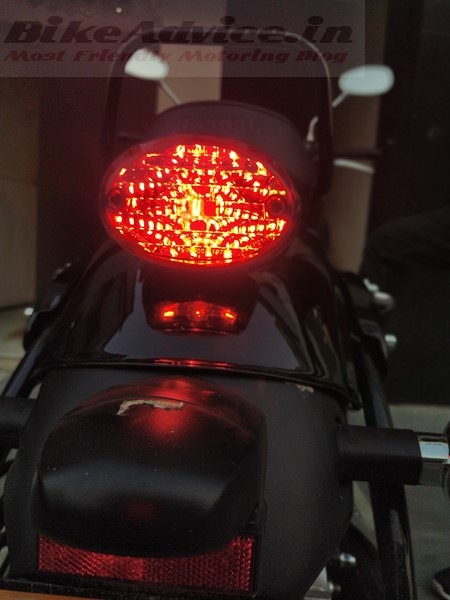 Benelli Imperiale 400 tail light