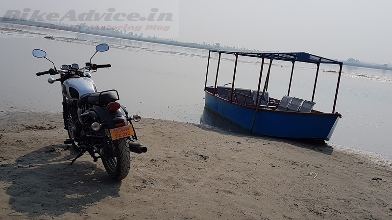 Benelli Imperiale 400 test ride