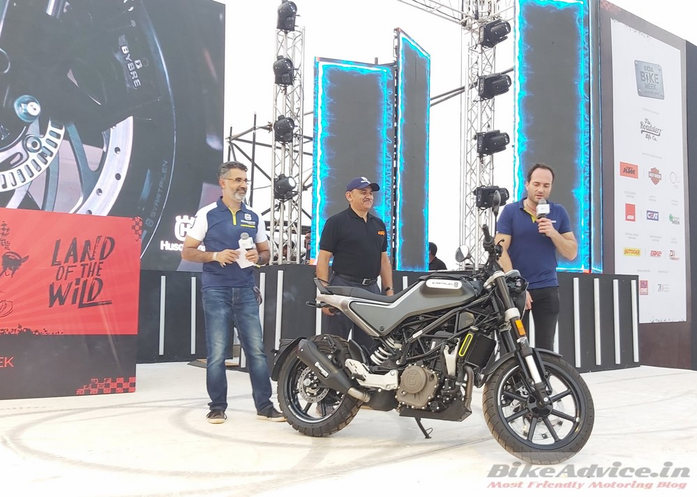Husqvarna Indian launch
