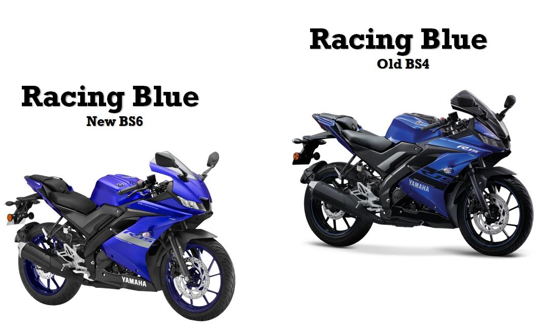R15 bs6 vs BS4