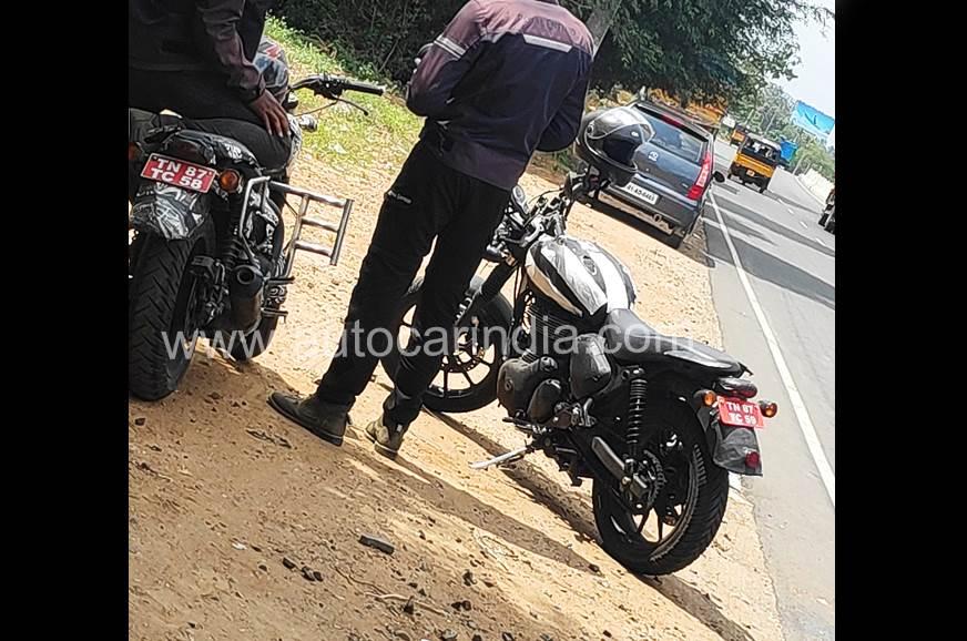 Upcoming Royal Enfield motorcycle