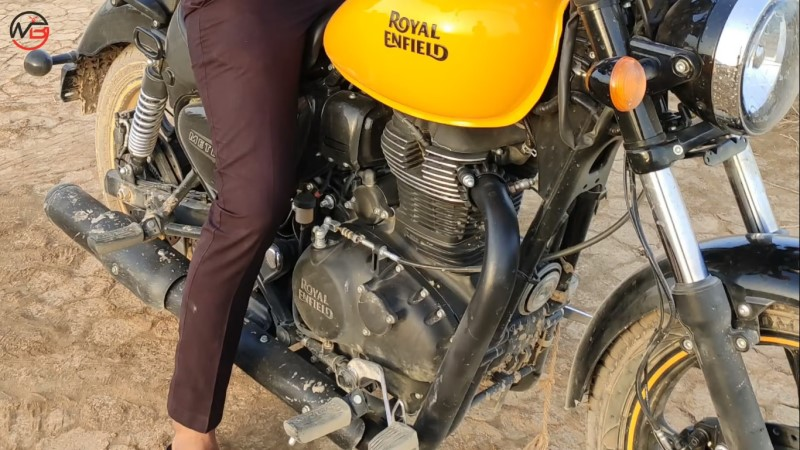 RE's upcoming 350cc engine