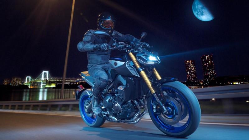 Yamaha faired mt09