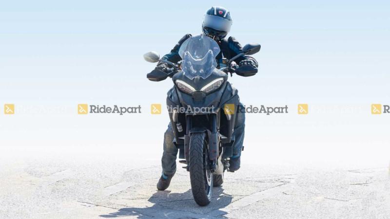 Ducati Multistrada V4 spy pics