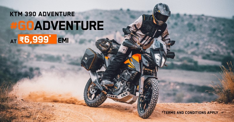 390 Adventure Finance options