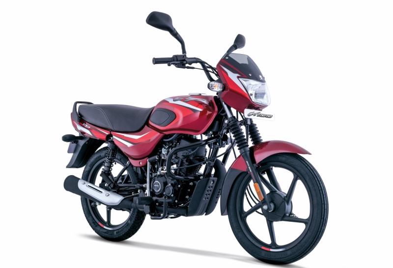 2021 Bajaj CT100 changes