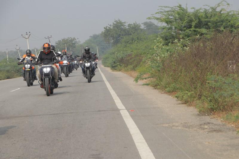 KTM Pro-Getaway rides