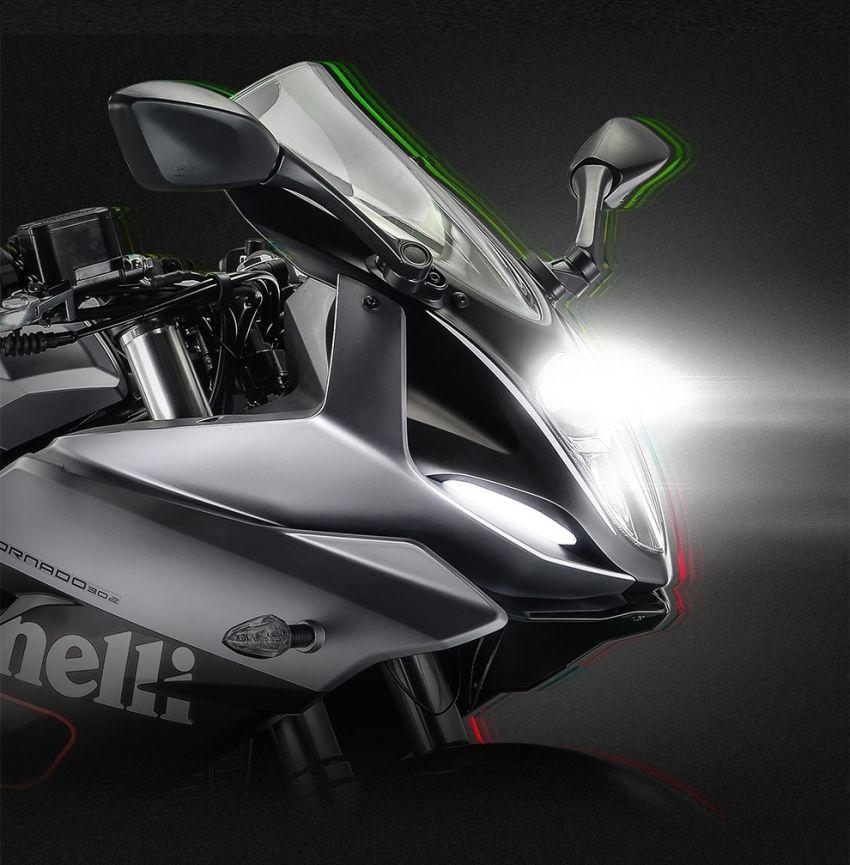 2021 Benelli 302R Pics