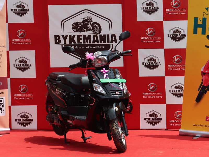 electric 2-wheeler sales