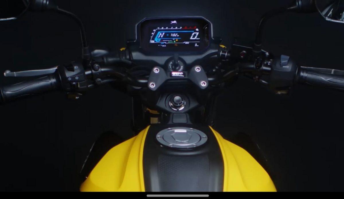 upcoming tvs motorcycle