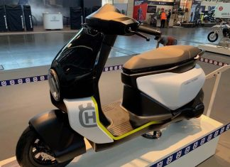 Husqvarna Vektorr electric scooter
