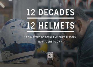 royal enfield 120 anniversary helmet